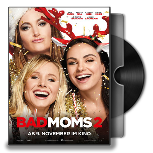 Bad Moms Christmas Dvd Release Date.A Bad Moms Christmas Ver2 Dvd Cover Icon By Smly99 On Deviantart