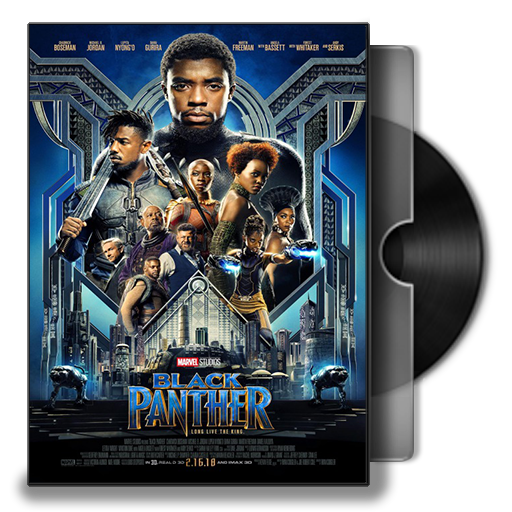 Black Panther Dvd Cover Icon By Smly99 On Deviantart