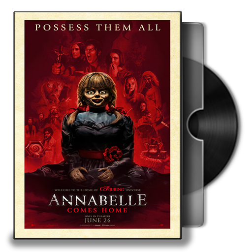 Annabelle Comes Home 2019 Folder Icon By Smly99 On Deviantart