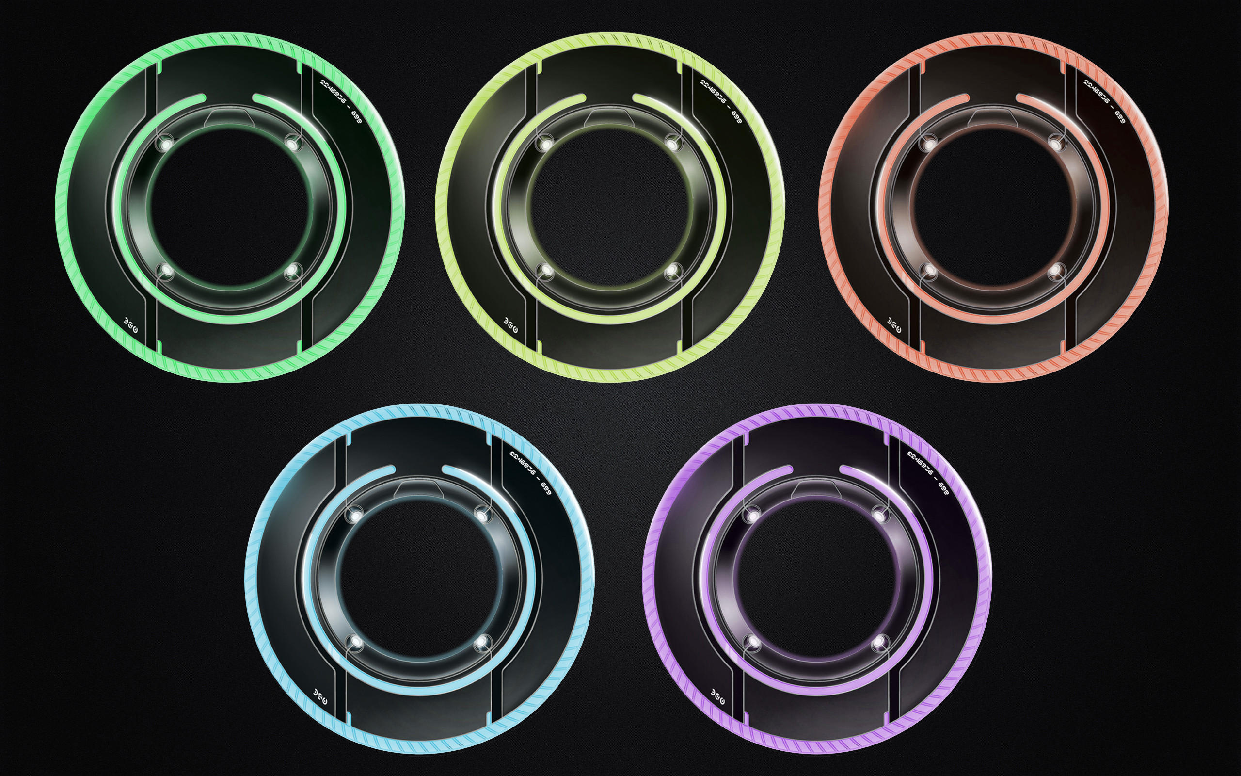 tron lightdiscs   icon by dantenopolis