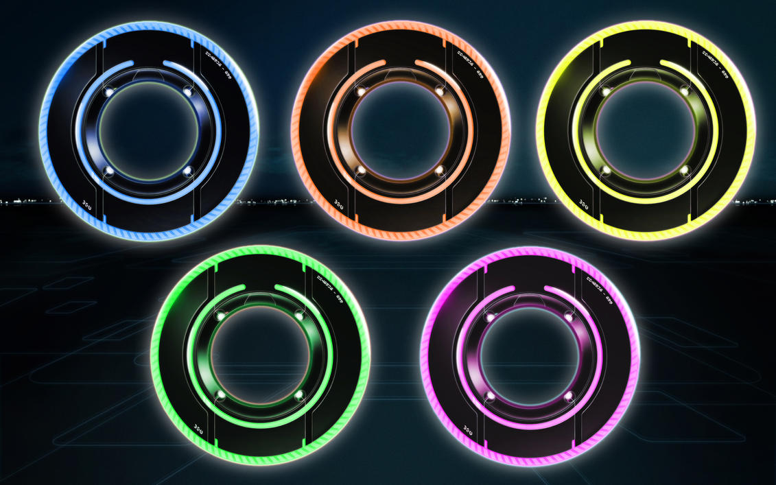 Tron Lightdiscs Icon V2 by dantenopolis