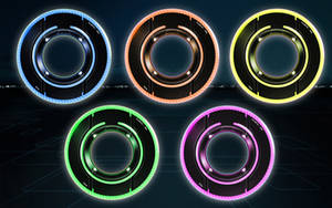 Tron Lightdiscs Icon V2 by dantenopolis