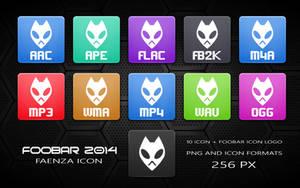 Faenza Foobar Icons