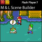 Mario and Luigi Scene builder by YoungLink19