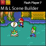 Mario and Luigi Scene builder