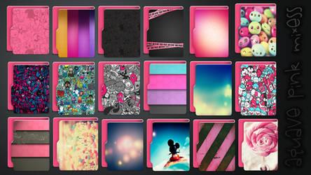 Icons Aquave Pink Mixess by kamysweet