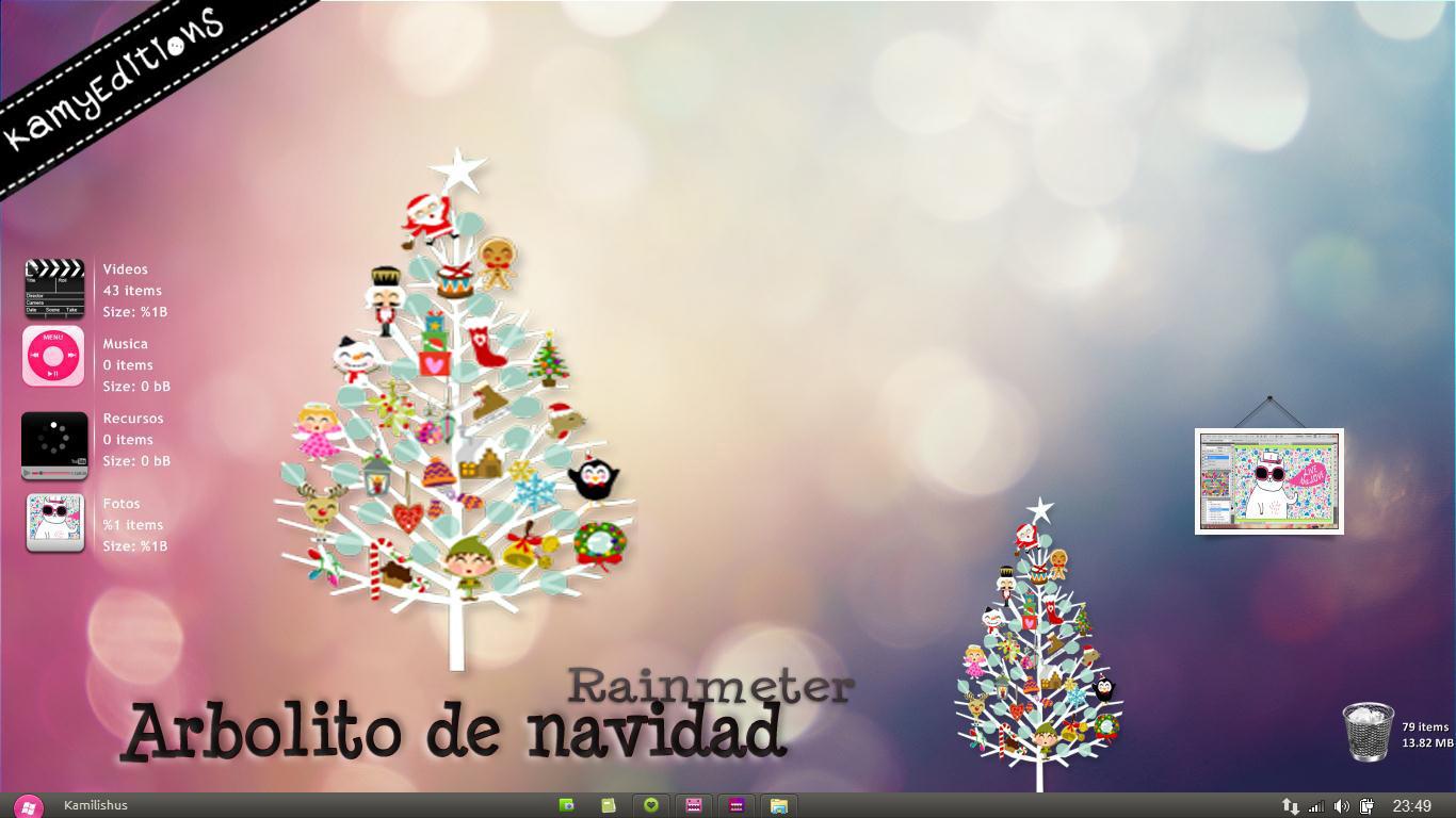 Arbolito de navidad para rainmeter by kamysweet on deviantart - Arbolito de navidad ...