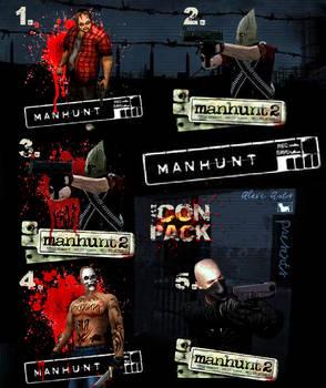 Manhunt Icons Pack