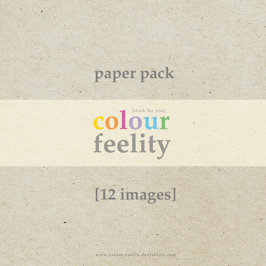 Paper Pack by Yaolin-Yaolin