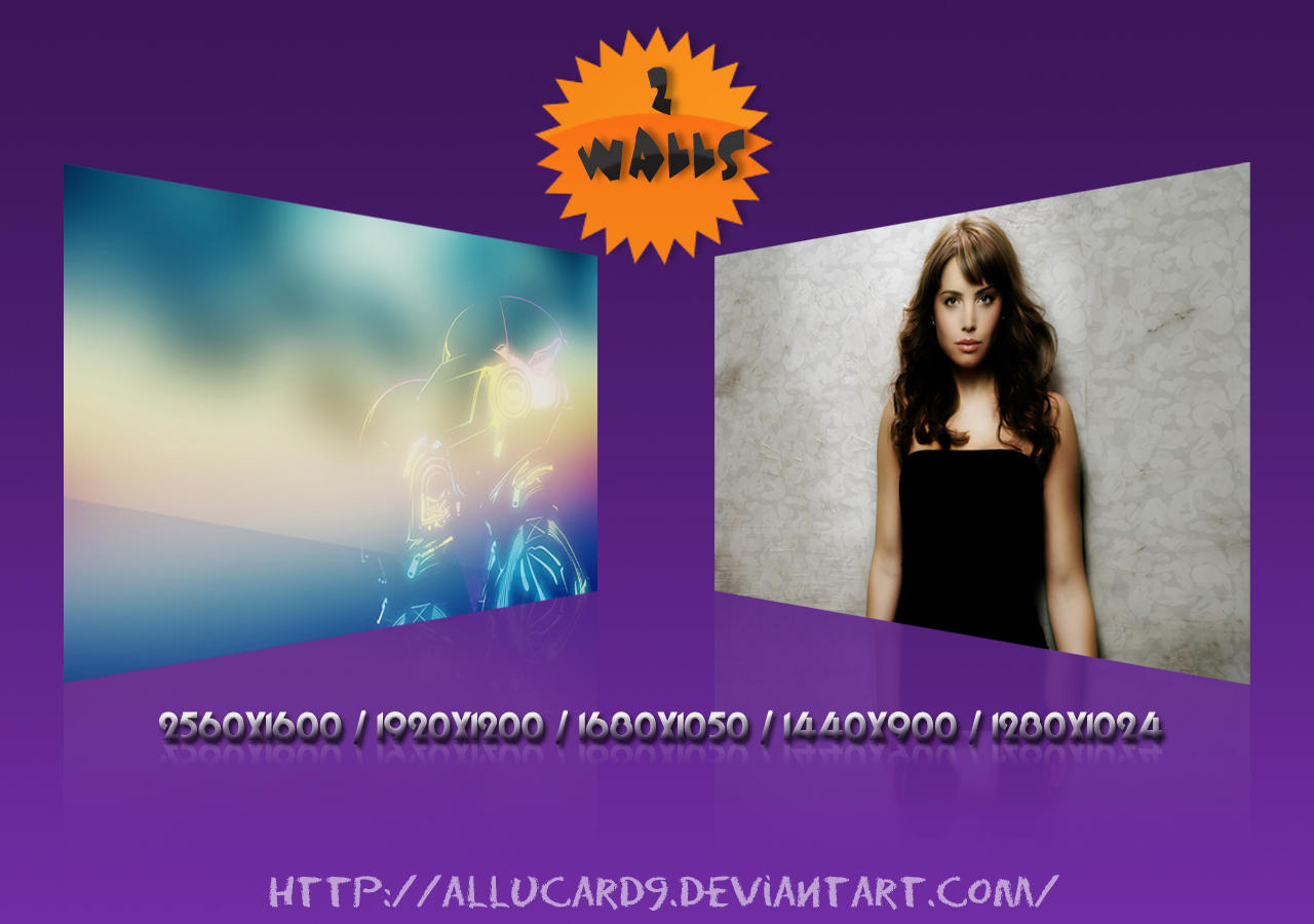 2Pack Wallpapers by Allucard9