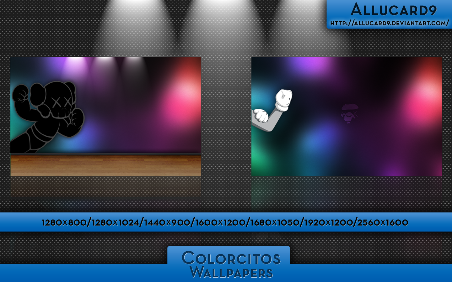 Colorcitos... Wallpapers by Allucard9