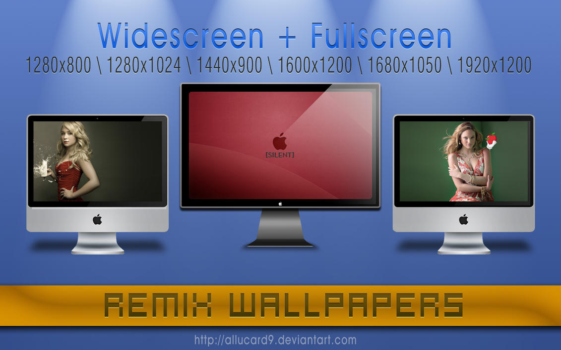 ReMix Wallpapers by Allucard9
