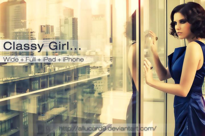 Classy Girl... by Allucard9