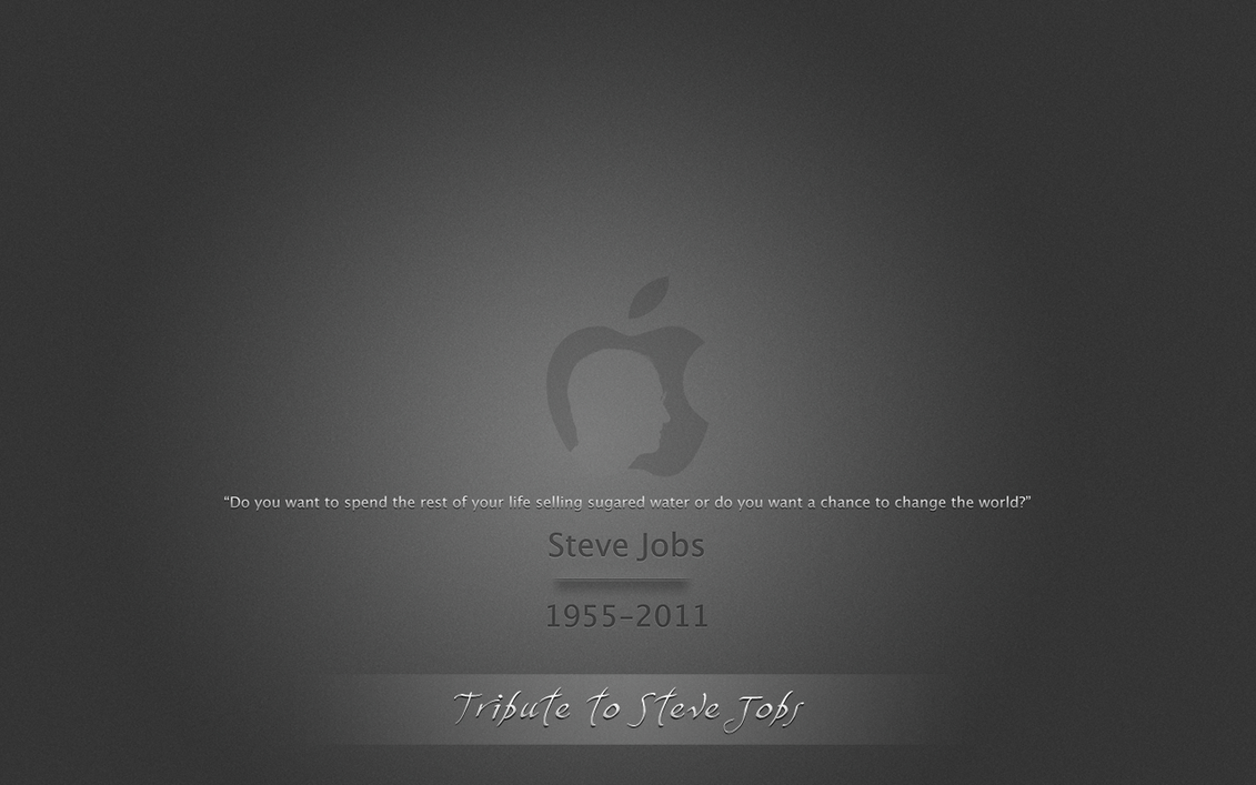 .Steve Jobs Tribute by Allucard9
