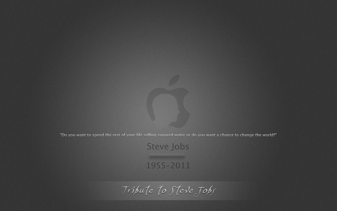 .Steve Jobs Tribute by Allucard9