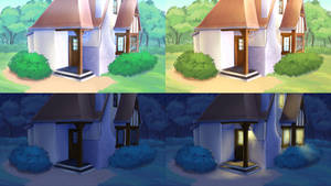 Free Backgrounds: Cottage