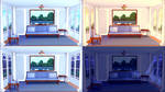 Free Backgrounds: Living Room