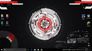 Hi tech desktop v2.0 (Rainmeter)