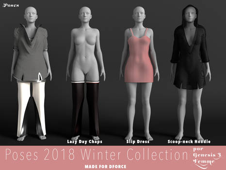 Poses Winter 2018 Collection