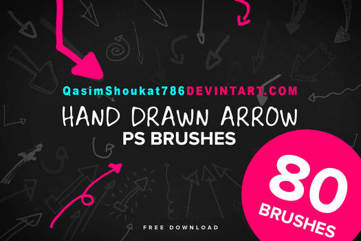 Hand Drawn Arrows Brushes