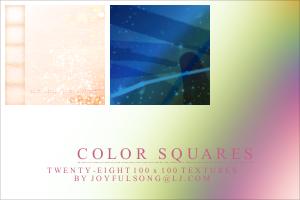 Textures 003: Color Squares