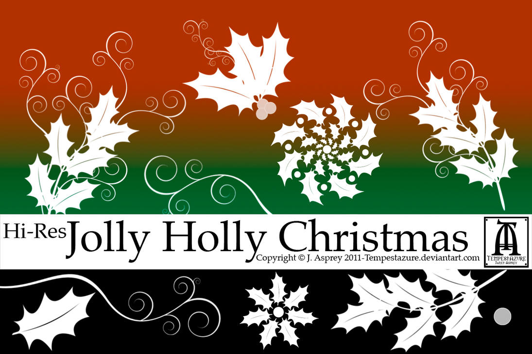 D Acrylic Christmas Nail Design