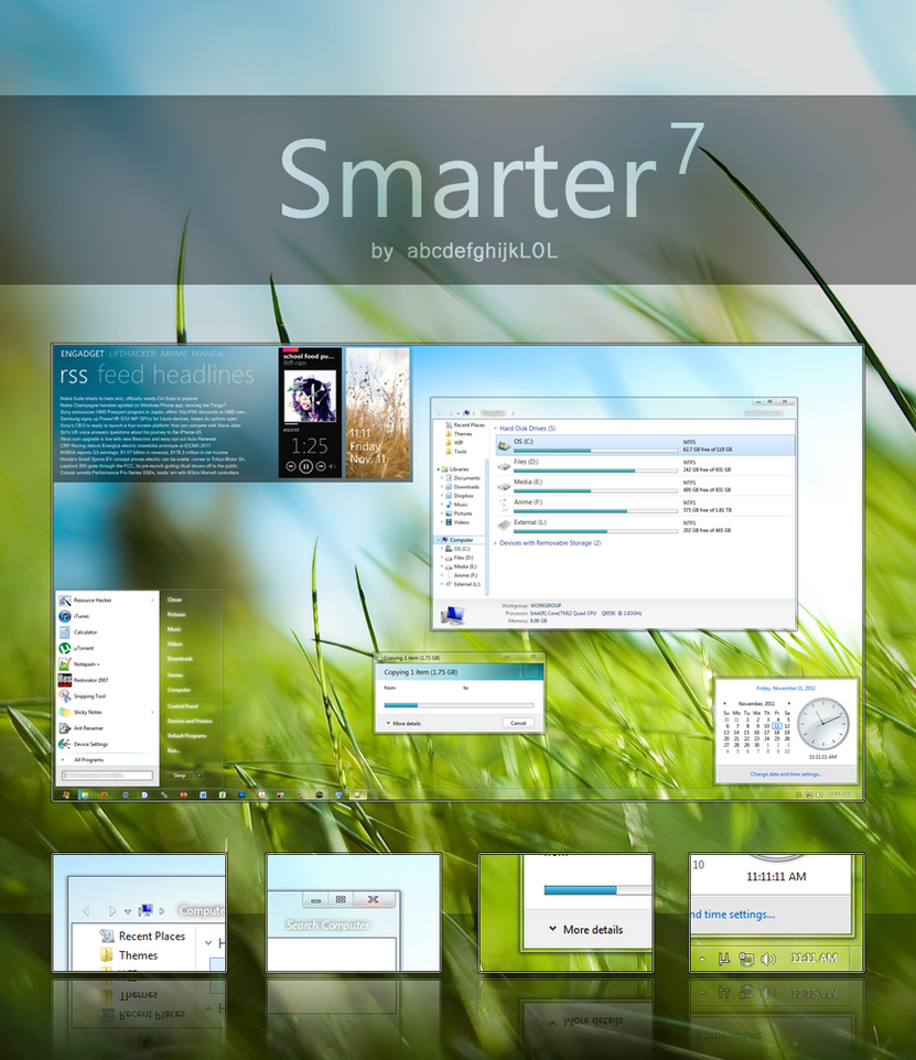 Dust and Glass for Windows7