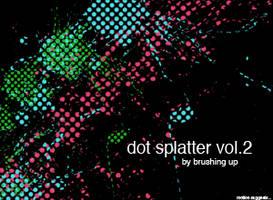 Dot Splatter vol 2 by motion-suggests