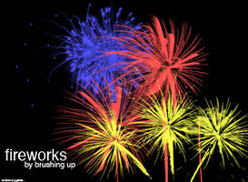 Fireworks Brushes by motion-suggests