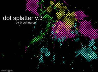 Dot Splatter vol3 by motion-suggests