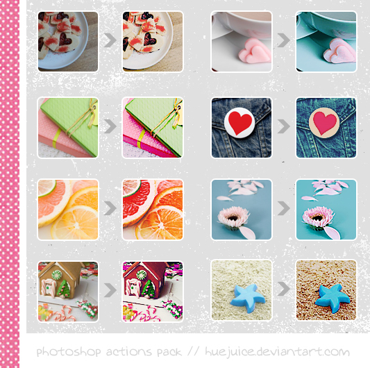 Photoshop Actions Pack