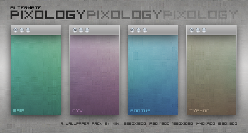 Alt. Pixology Wallpaper Pack by NiMPLiCiTy