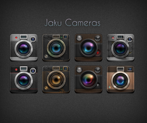 NiM's Camera Icons by NiMPLiCiTy