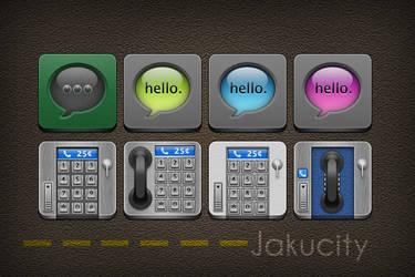 Jakucity - Jaku Icons by NiMPLiCiTy