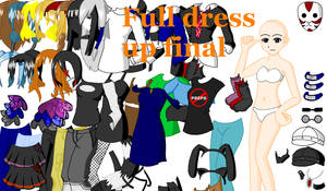 Full Dress Up Final by DreamOcean