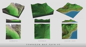 Terragen Map Pack No.3