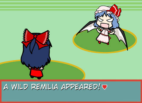 Walfas Custom Props: Reimu back / Dio pose Remila
