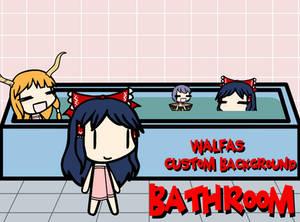 Walfas Custom Background: Bathroom
