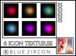 Light, Glow Icon textures