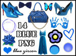 Blue Things PNG