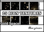 Gold Space Icon Textures