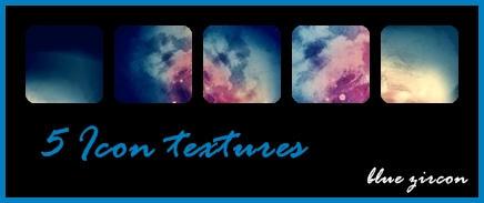 5 Icon Textures by bluezircon-graphics