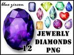 Jewerly Diamonds PNG Pack