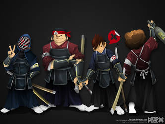 _024: Kendo Squad by hatefuel