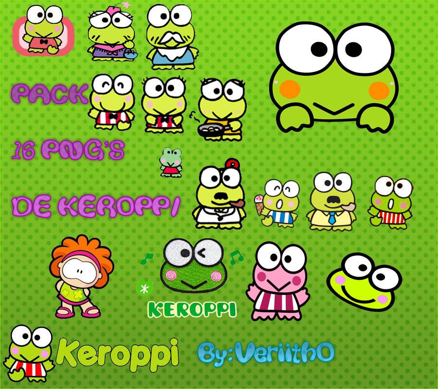 Keroppi Wallpaper Wallpapers: Png's Keroppi LindOs By Veriitho On DeviantArt