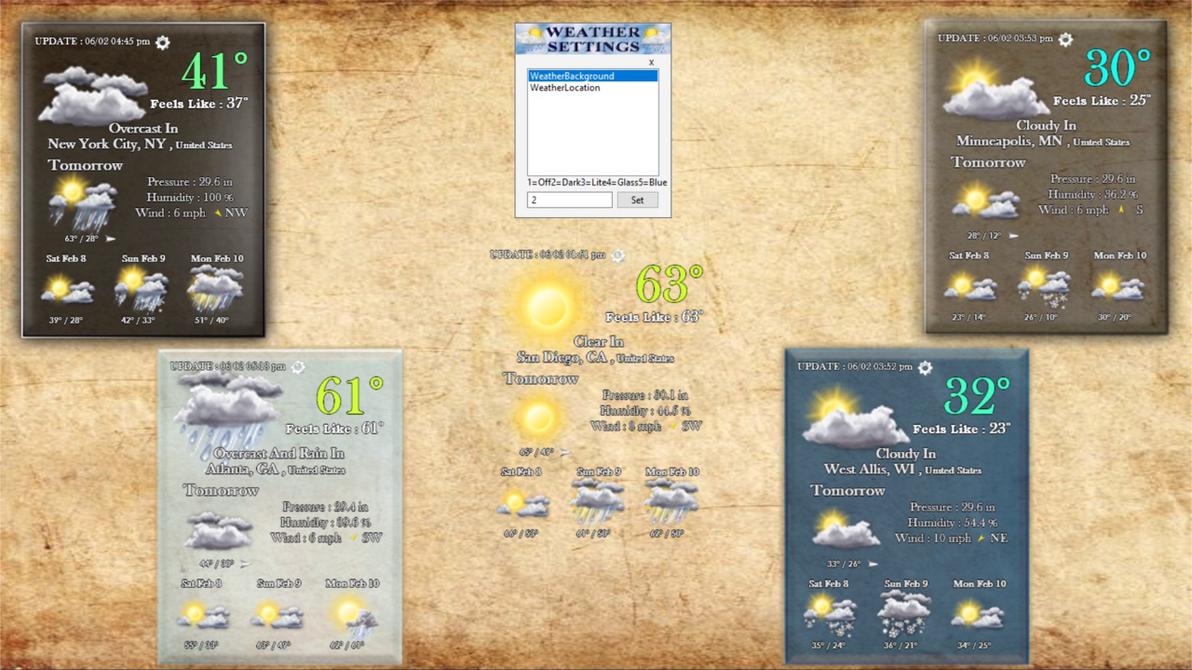 WeatherPlace 1.5