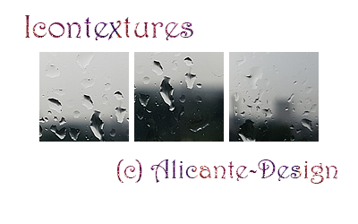 Icontextures Pack (Raindrops) by Alicante-Design