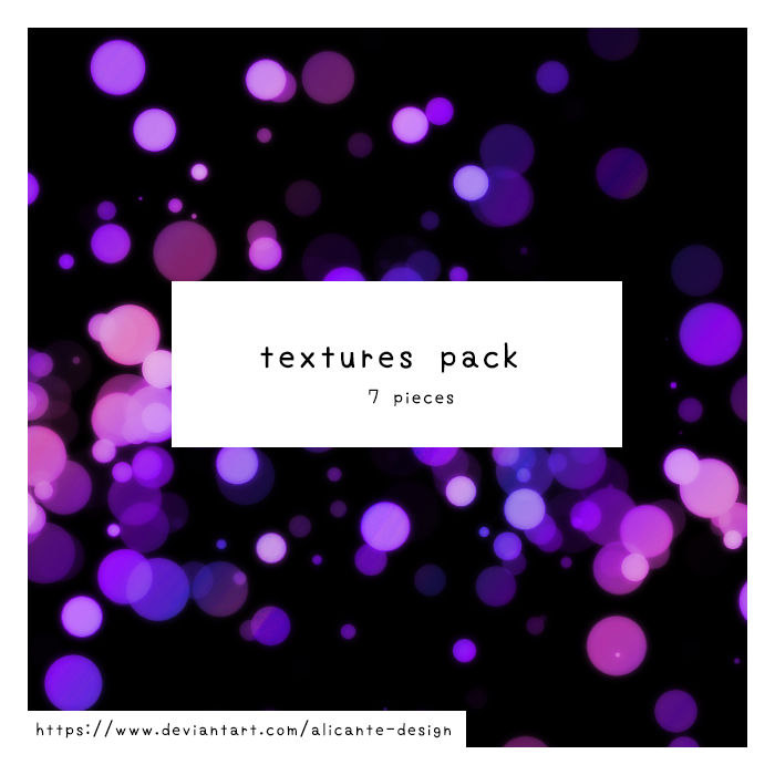 Bokeh Textures by Alicante-Design