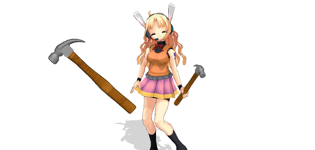 Mmd Hammer Dl By Kurona San On Deviantart