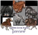 14 free icon bases